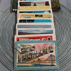 Other - Vintage United States Post Card Packs